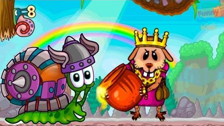 Улитка боб 2 Лесная История Веселая игра для детей Видео игры на андроид Funny game for kids 2017 #3
