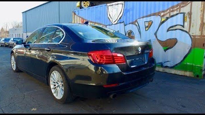 2012 BMW 535 - сделали не большой ремонт - (цены на запчасти и ремонт в США).