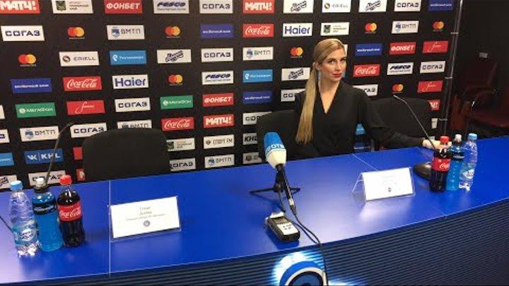 Пресс-конференция после матча «Адмирал» – «Динамо» Минск