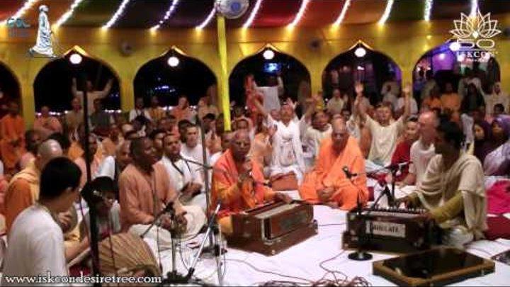 ILS Kirtan Mela 2016 by Lokanath Swami at ISKCON Mayapur