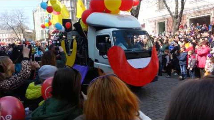 Одесса, 1-е апреля, парад на Дерибасовской! 3 часть!