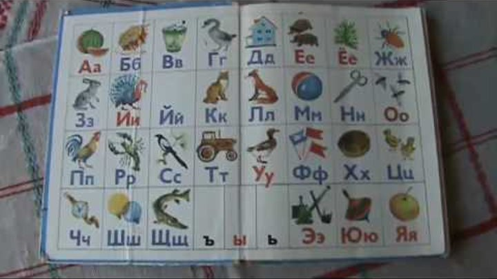 Русский алфавит (буквы) - Russian alphabet (letters)
