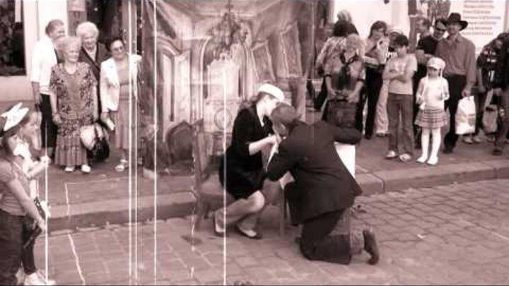 немое кино на день города Калининград-2011.AVI