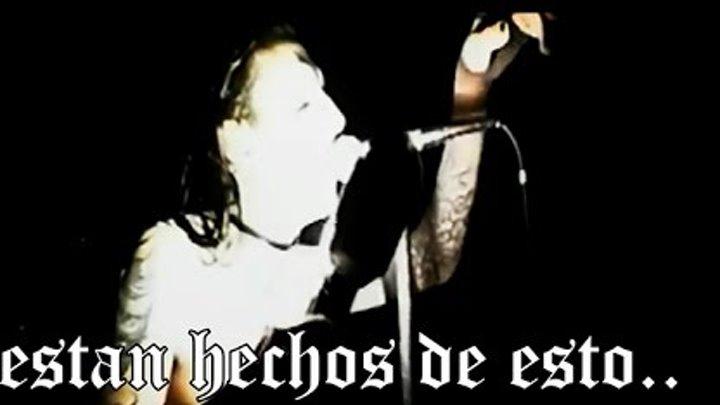 Marilyn Manson Sweet Dreams Subtitulos Español Live Dead To The Wolrd VHS 1996 HD