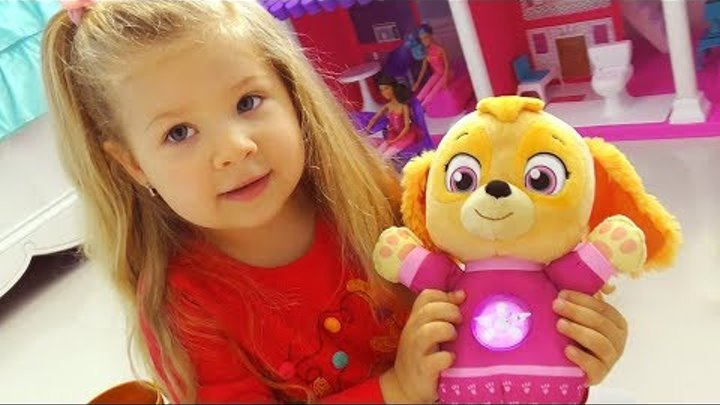 VLOG My Toys: Sky, Barbie doll house, Pikmi Pops surprise Video for kids and toddlers, Игрушки Дианы