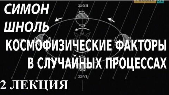 ACADEMIA. Симон Шноль. Космофизические факторы в случайных процессах. 2 лекция. Канал Культура