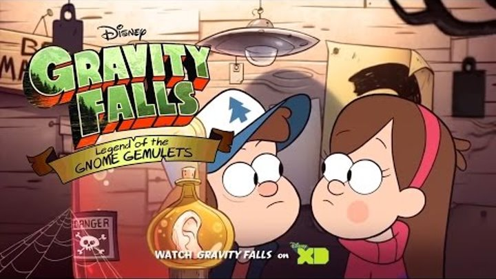 Gravity Falls: Legend of the Gnome Gemulets – Тизер-трейлер (3DS)
