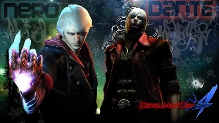 Devil May Cry 4 Special Edition Dante and Nero