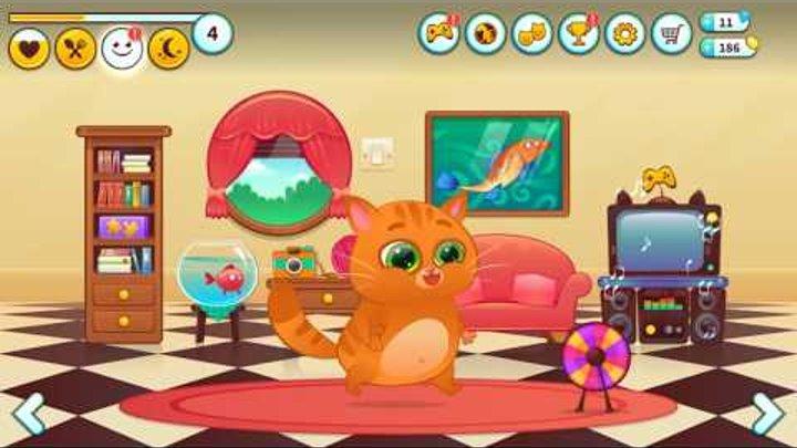 Котенок Бубу. Кто ЭТО сделал? Мой виртуальный котик BUBBU. Мультик для детей. Bubbu My Virtual Pet