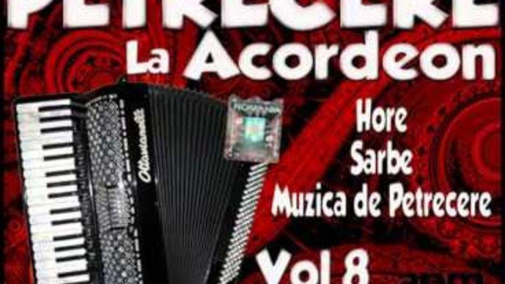 Petrecere La Acordeon Vol 8 Muzica De Petrecere Hore Si Sarbe