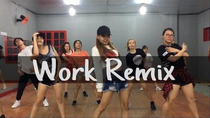 Work(Remix) - Rihanna Dance Cover   Sori Na Choreography