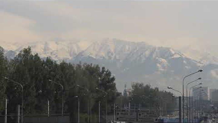Алматы. Горы после снегопада. 18 октября
