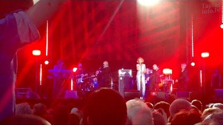 Концерт Леонида Агутина, Анжелики Варум, Александра Мирского на площади Vienības