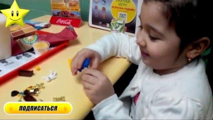 VLOG Детское кафе играем на детской площадке открываем игрушку конструктор МИСС КЕЙТИ И МИСТЕР МАКС