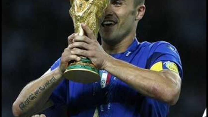 ITALY WORLD CHAMPION 4! 1934 1938 1982 2006!!