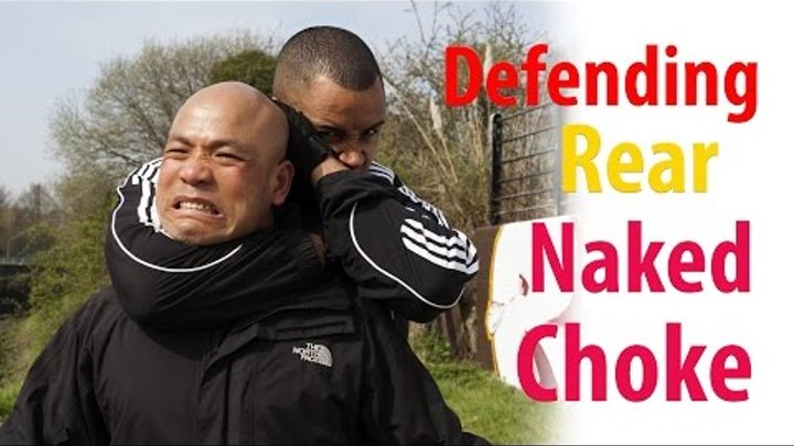 How to defend a rear naked choke | wing chun self defence