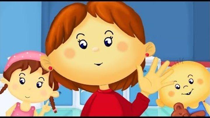 Comptine pour enfants : Je me lave les mains