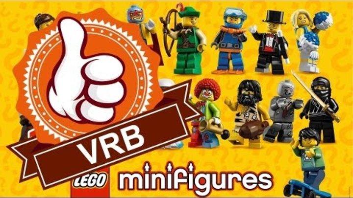 Обзор LEGO 8683, 1 серия коллекционных минифигурок.