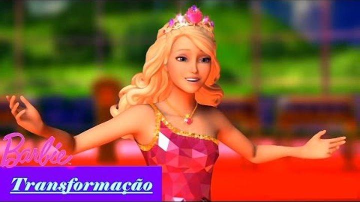 Barbie Escola de Princesas | Transformação - Princesa Sophia (Blair)