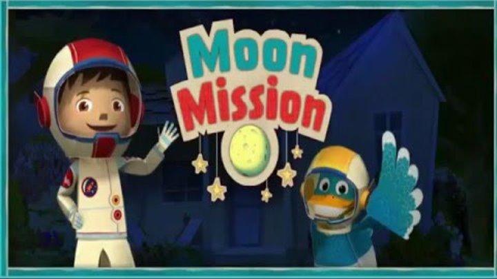 Зак и Кряк Миссия Луна Zack and Quack Moon Mission