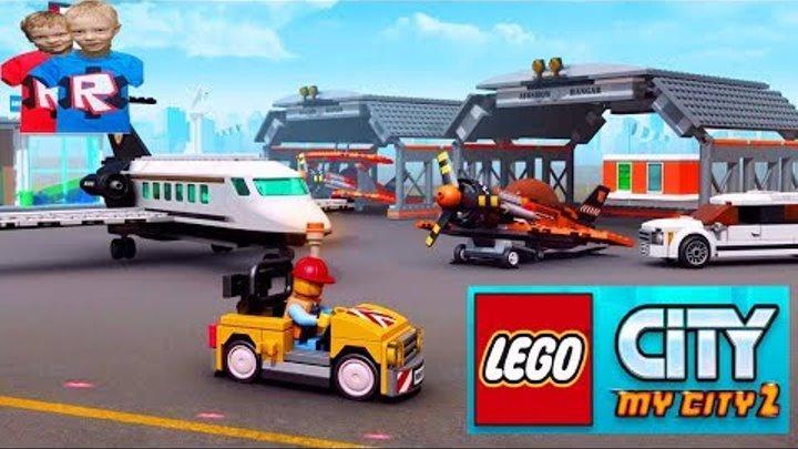 Lego City - My City 2. Игра Мультики Лего Сити ТУШИМ ПОЖАРЫ и СПАСАЕМ ЖИТЕЛЕЙ КУЛ ФАНИ ГЕЙМС