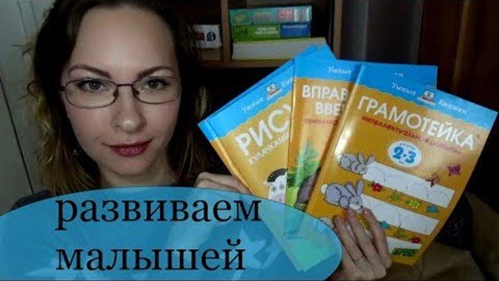 Развивающие пособия для детей 2-3 лет Умные книжки Отзыв