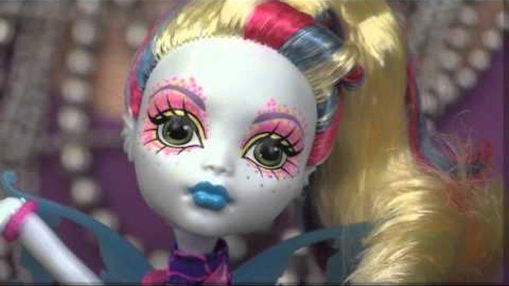 Обзор куклы Monster High Лагуна Блю Скарьерный риф (Great Scarrier Reef) - DHB56