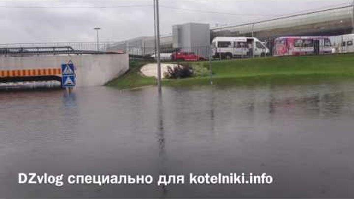DZvlog. Подтопление в ТРЦ Мега Белая Дача. Котельники