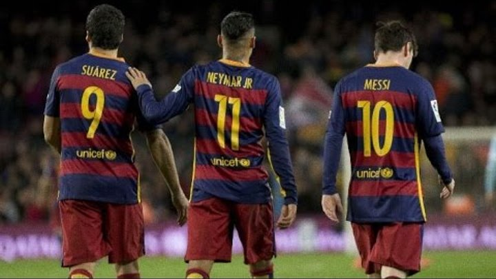 MSN ● Top 10 Goals ● 2015-2016