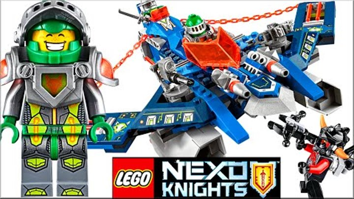 LEGO Nexo Knights 70320 Аэро-арбалет Аарона Обзор. Лего Нексо Найтс мультик, игра Нексо Рыцарь Аарон