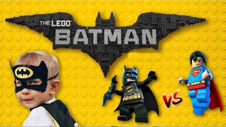 Лего Бэтмен и Супермен против Лекса Лютора ★ LEGO Juniors Batman & Superman vs Lex Luthor review!