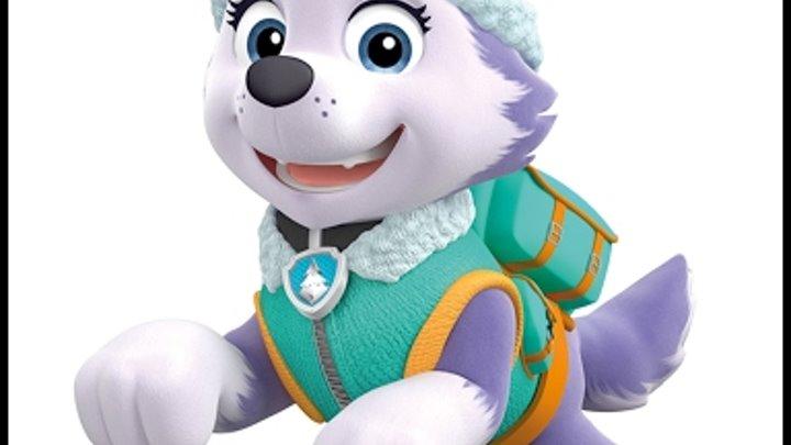 Новые серии щенячий патруль.Знакомимся с новой игрушкой-Эверест