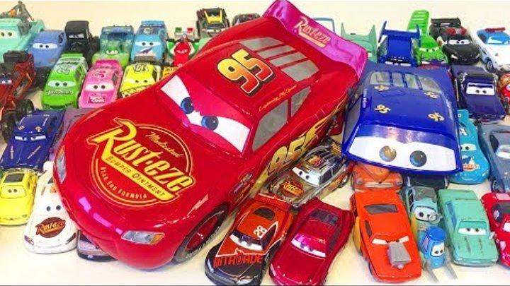 Тачки Игрушки Молния Маквин Много Машинок Мультики про Машинки Видео для Детей Cars 3