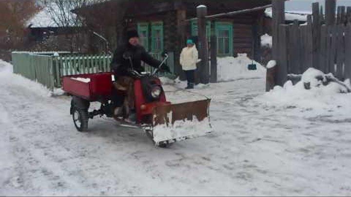 чудо техники муравей..снег чистить№ 2 часть