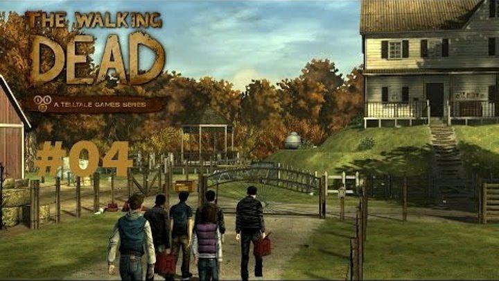 The Walking Dead Season 1 Episode 2 #04 [Неприятности Спустя 3 Месяца]