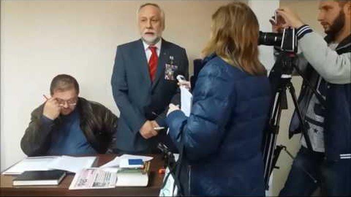 Юрий Кармазин отвечает на вопросы журналистов.
