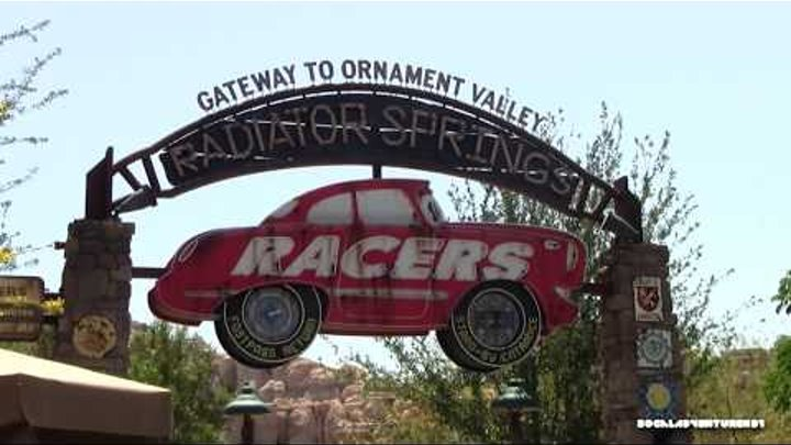 HD POV 1080P - Radiator Springs Racers - Cars Land - Disney California Adventure - Luigi Segment
