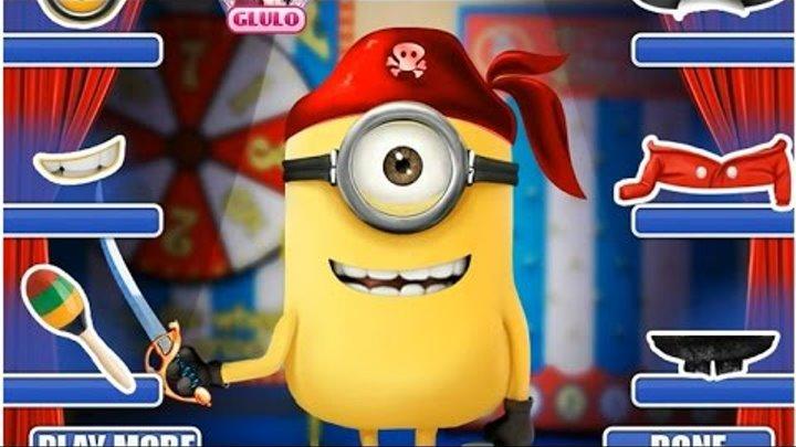 NEW Disney Миньоны игры—Миньон пират—Мультик Онлайн видео игры для девочек 2015