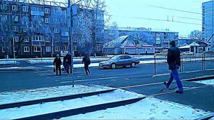 Пробки.Барнаул.Автор видео Пакемон.17.11.2017
