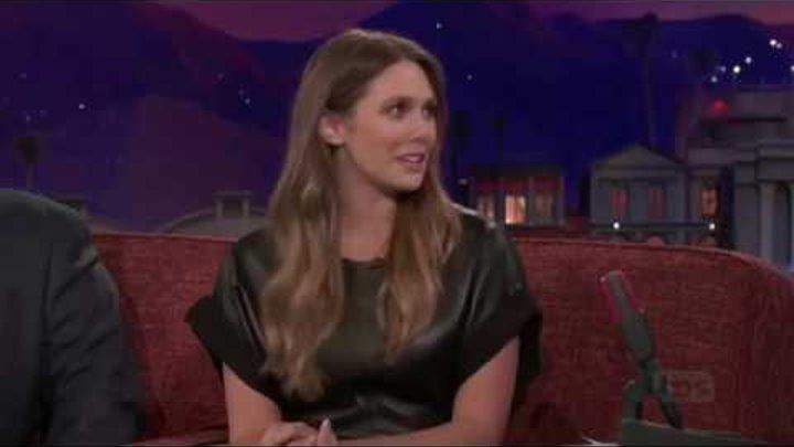 Элизабет Олсен (Elizabeth Olsen) матерится по-русски в прямом эфире!