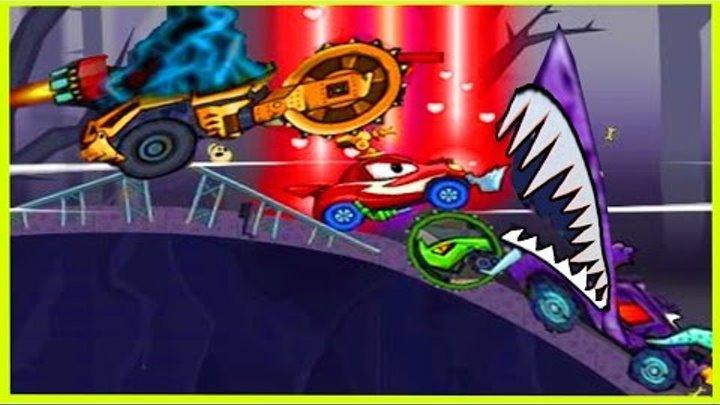 Мультик ИГРА для детей про МАШИНКИ МАШИНА ест МАШИНУ 3(3) Cartoon game for kids about cars