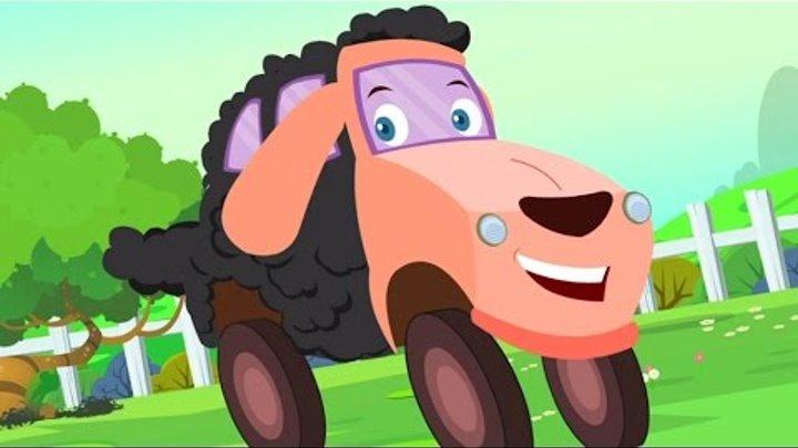 Baa Baa Черная овца Детские стишки  детский песни в русский   ребятишки видео