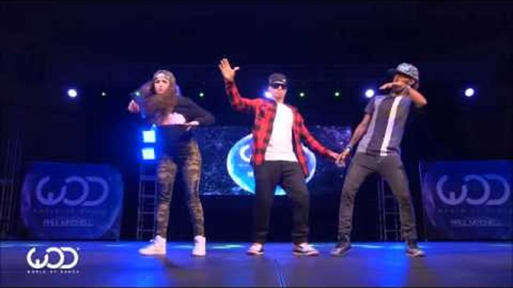 Dytto, Poppin John ¦ FRONTROW ¦ World of Dance Los Angeles 2015 музыка Dj ZvoNar&Bombochka track N