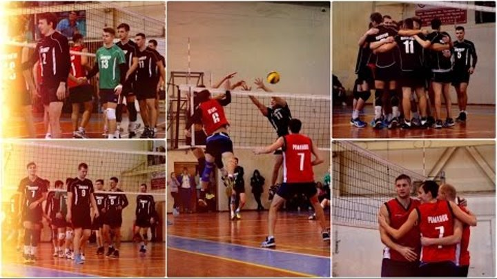 Универ 3 - 1 Дзержинец. Волейбол 1-я лига