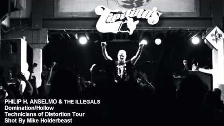 "PHILIP H. ANSELMO & THE ILLEGALS - ""Domination/Hollow"" (Official)"