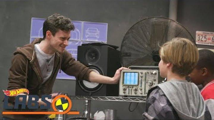 #HotWheels лаборатория ставит #Опытыдлядетей: #машинки #хотвилс изучают звук 🚗 Видео #длямальчиков