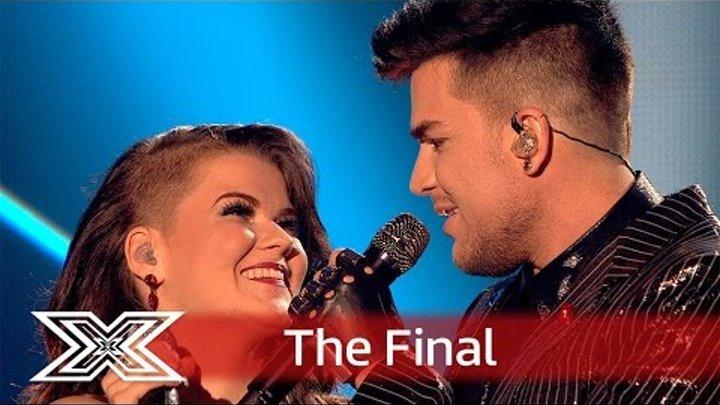 Magnifico! Saara and Adam Lambert team up for Bohemian Rhapsody! | Finals | The X Factor UK 2016