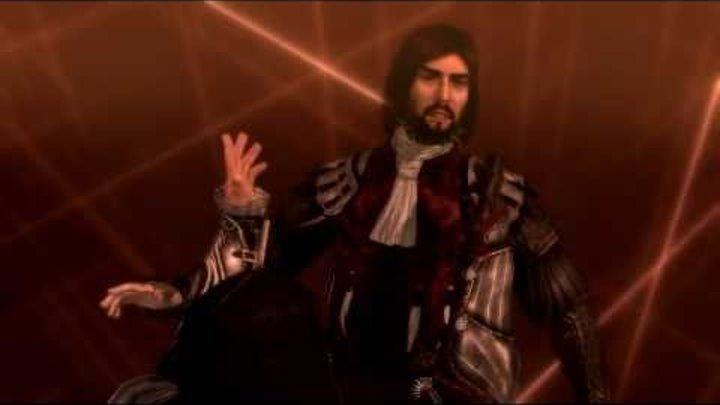 Assassin's Creed Brotherhood PC gameplay - Ezio Auditore vs Cezar Borgia Battle