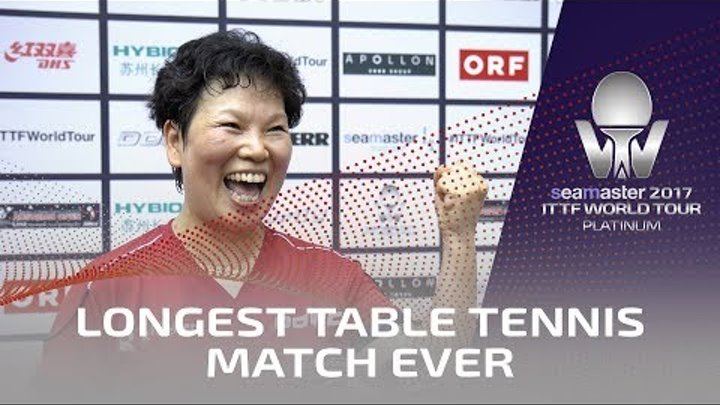 Longest Ever Table Tennis Match!