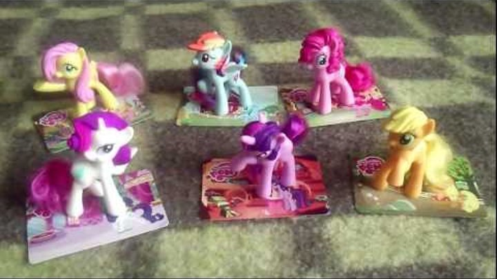 Обзор игрушек My Little Pony из McDonald's